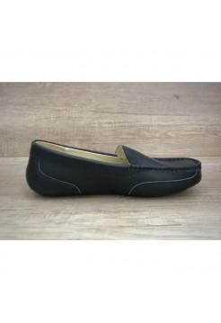 Купить UGG Ascot Summer Leather Black В Украине