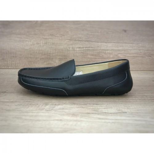 UGG Ascot Summer Leather Black