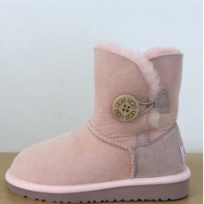 Детские угги UGG Baby Bailey Button Pink