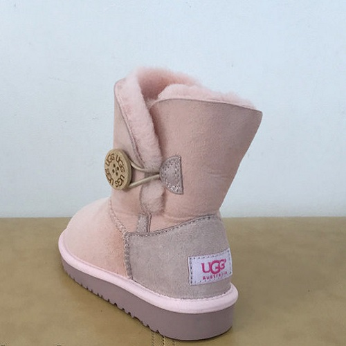Детские угги UGG Kids Bailey Button dark brown