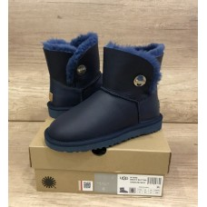 Купить UGG Bailey Button Mini Turnlock Leather Blue в Украине
