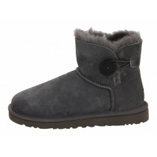 Купить UGG Mini Bailey Button Dark Grey II в Украине