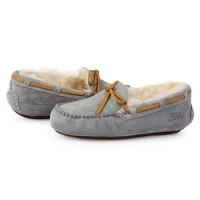 Купить Мокасины UGG Dakota Slipper Grey в Украине