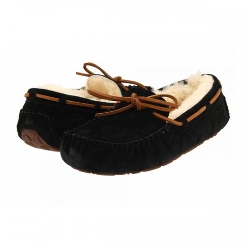 Купить Мокасины UGG Dakota Slippers черные в Украине