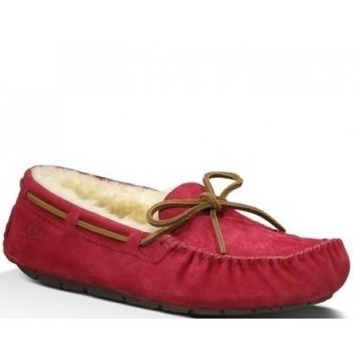 Купить Мокасины UGG Dakota Slipper Red в Украине