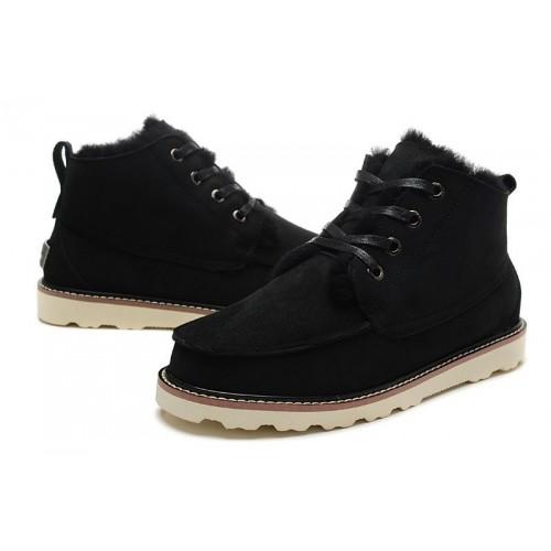 Купить UGG David Beckham Boots Black в Украине