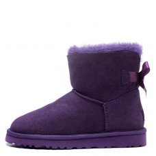 Купить UGG Mini Bailey Bow Purple II в Украине