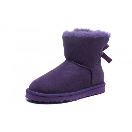 UGG Mini Bailey Bow Purple II