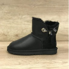 Купить UGG Josey Leather Black в Украине
