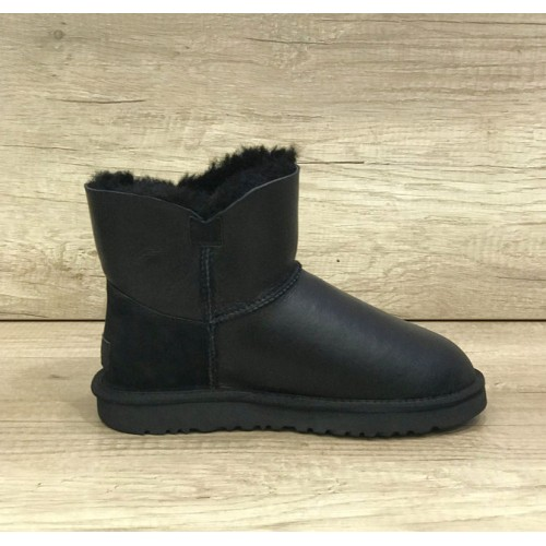 UGG Josey Leather Black
