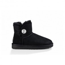 UGG Bailey Button Mini Bling Черные
