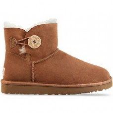 UGG Bailey Button Mini Chestnut