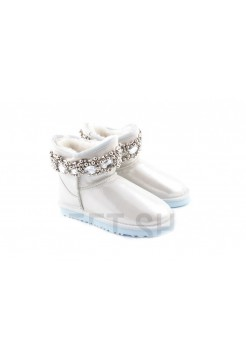 Купить UGG Classic Mini Queen White/Silver В Украине