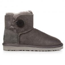 Купить UGG Mini Bailey Button Grey в Украине