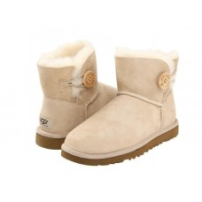 Купить UGG Mini Bailey Button Sand в Украине