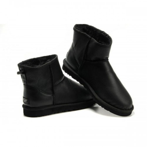 UGG Classic Mini Leather Black All