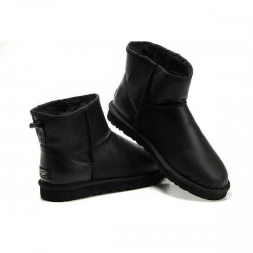 UGG Classic Mini Leather Black All