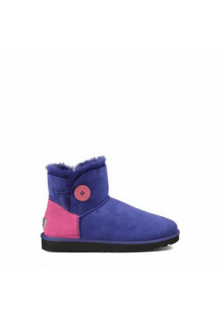Купить UGG Mini Bailey Button Neon Blue В Украине