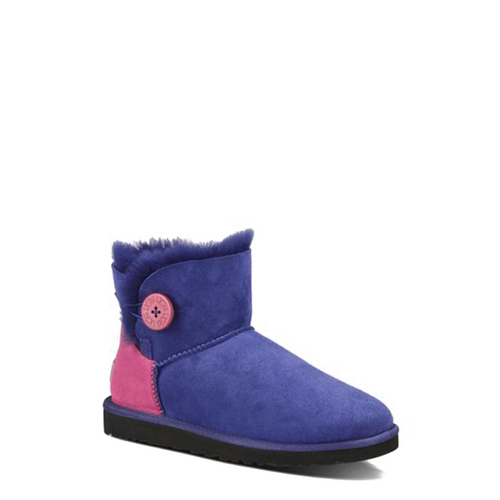 UGG Mini Bailey Button Neon Blue