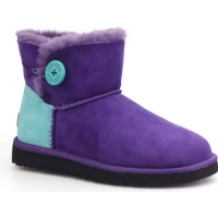 UGG Mini Bailey Button Neon Purple