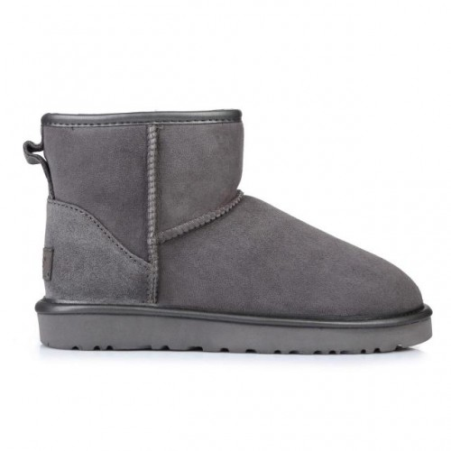 Купить UGG Classic Mini Grey Metallic в Украине