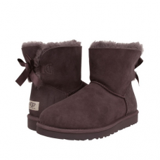 UGG Mini Bailey Bow Chocolate II
