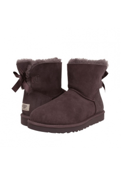 Купить UGG Mini Bailey Bow Chocolate В Украине