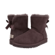 Купить UGG Mini Bailey Bow Chocolate II в Украине