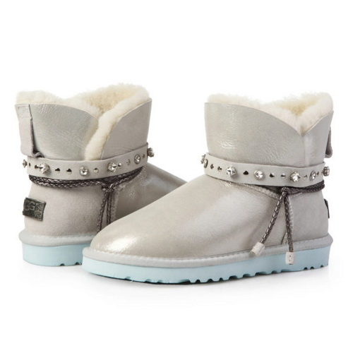 UGG Classic Mini Renn Cloud Glitter