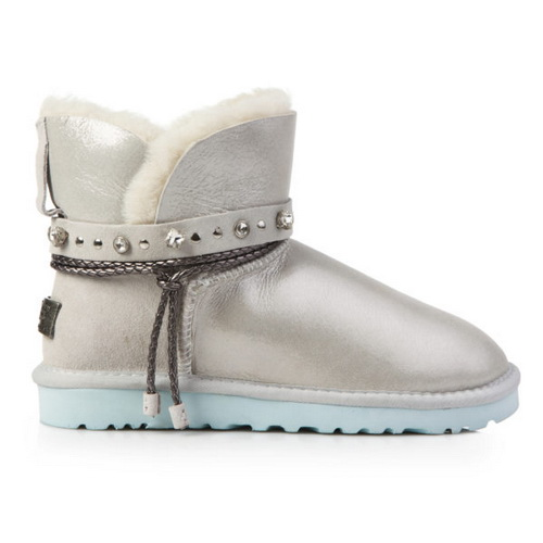 Купить UGG Classic Mini Renn Cloud Glitter в Украине