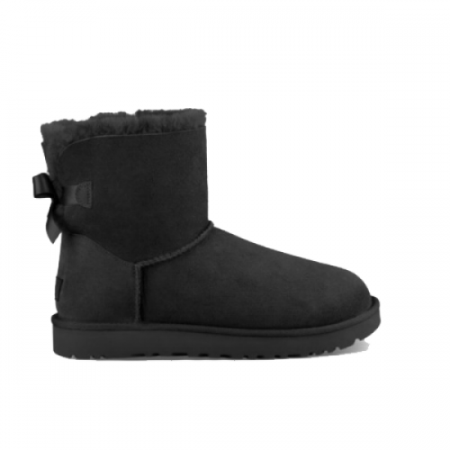 Купить UGG Mini Bailey Bow Black II в Украине