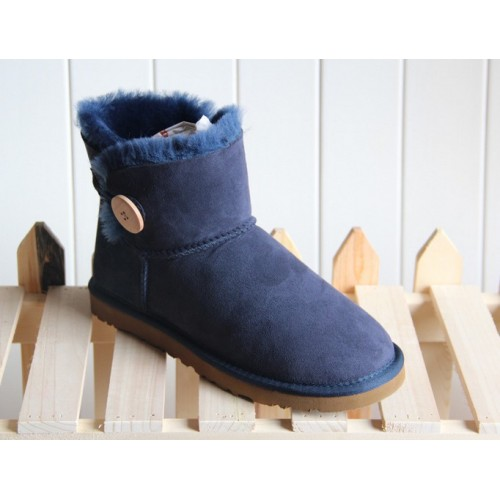 UGG Bailey Button Mini Blue II