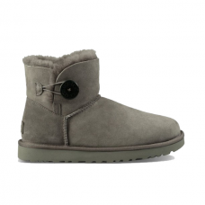 UGG Mini Bailey Button Grey II