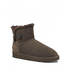 UGG Bailey Button Mini Chocolate II