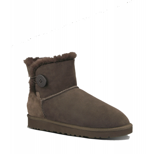 Купить UGG Bailey Button Mini Chocolate II в Украине