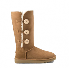 UGG BAILEY BUTTON TRIPLET chestnut II