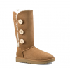Купить UGG BAILEY BUTTON TRIPLET chestnut II в Украине