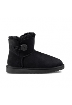 UGG Bailey Button Mini Black II