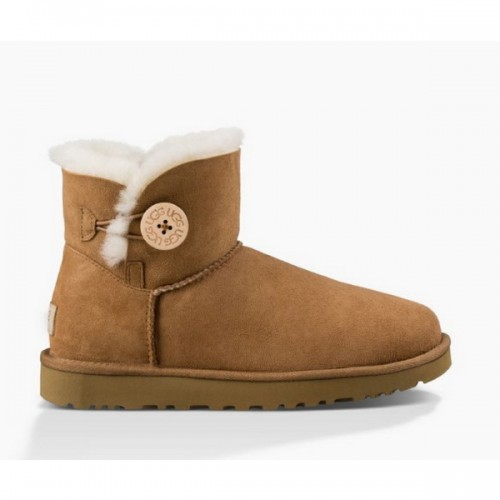 UGG Bailey Button Mini Chestnut II
