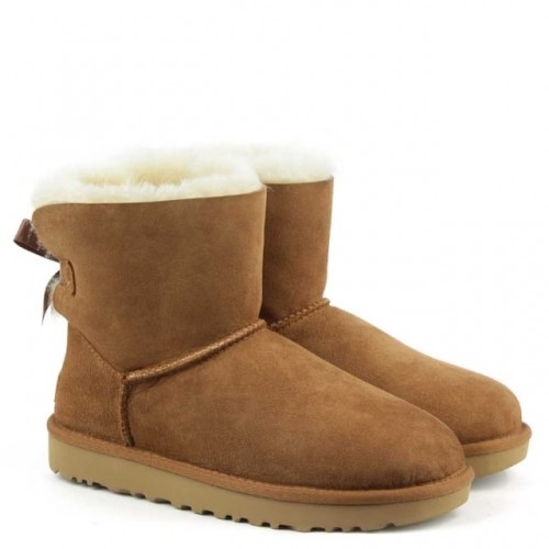 Купить UGG Mini Bailey Bow Chestnut II в Украине