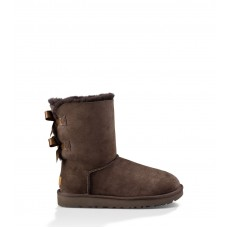 UGG Bailey Bow Chocolate II