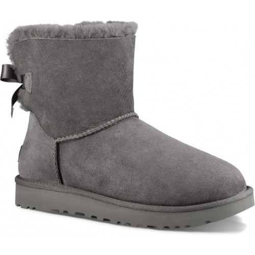 Купить UGG Mini Bailey Bow Grey II в Украине