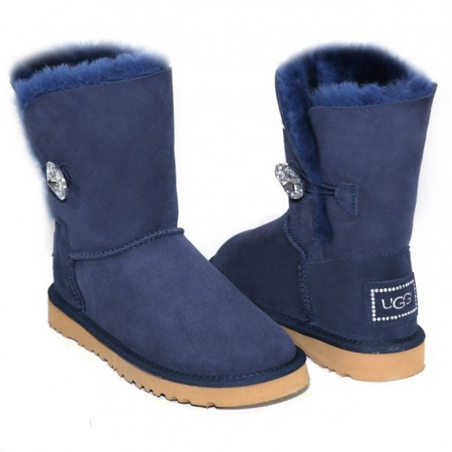 Купить UGG Bailey Button Bling Blue II в Украине
