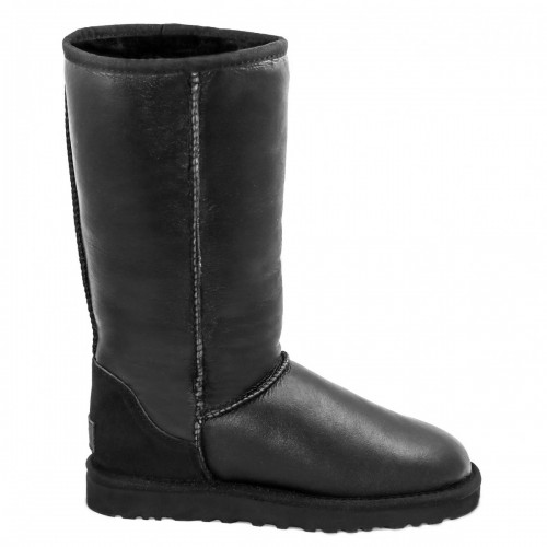Купить UGG Classic Tall Leather Black II в Украине