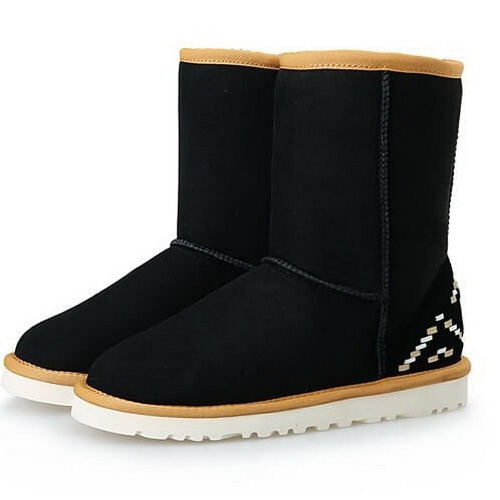 UGG Classic Short Ornament Black