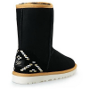 Купить UGG Classic Short Ornament Black в Украине